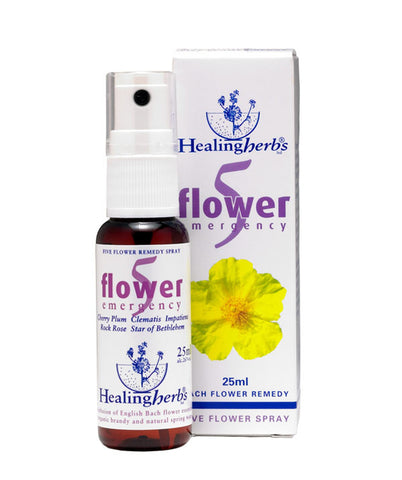 Healing Herbs 5 Flower Emergency Spray