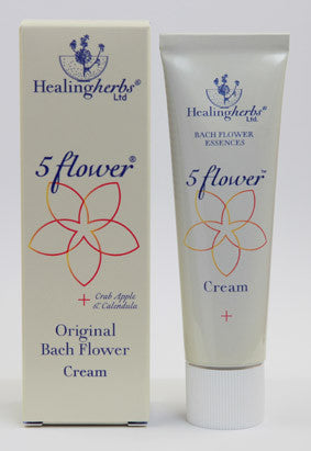 Healing Herbs 5 Natural Flower Cream
