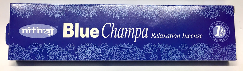 Nitiraj Blue Champa Incense - Relaxation