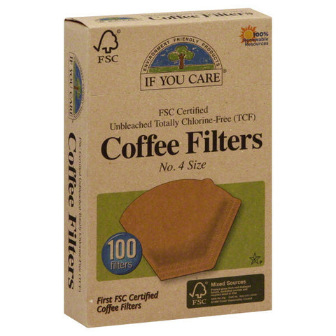 If You Care No 4 Coffee Filters