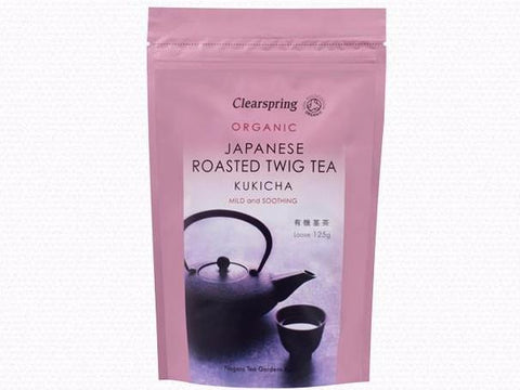 Clearspring Organic Kukicha Twig Tea - Loose