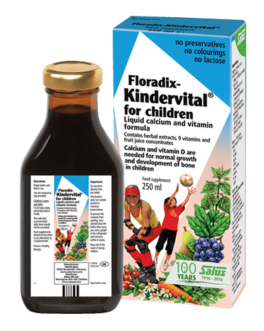 Floradix Kindervital Multivitamin for Children
