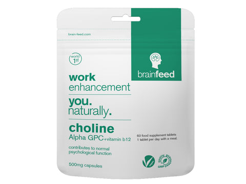 Brainfeed Choline Alpha GPC 500mg