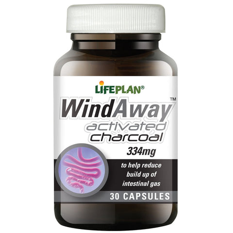 Lifeplan Windaway Activated Charcoal 334mg