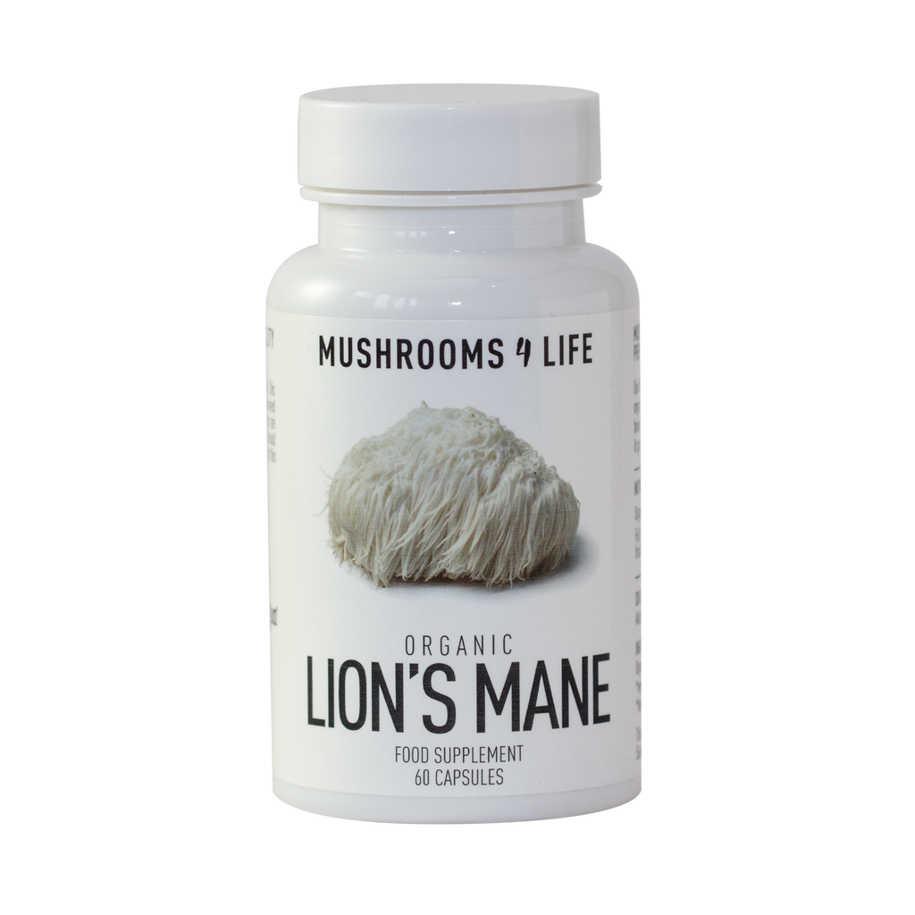 Mushrooms 4 Life Lion's Mane
