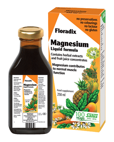 Floradix Magnesium Liquid Supplement