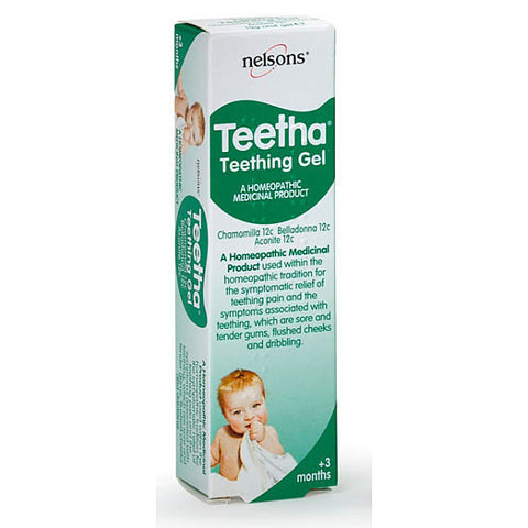 Nelsons Teetha Teething Gel