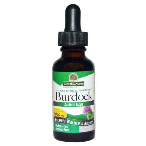 Nature's Answer Burdock - alcohol free