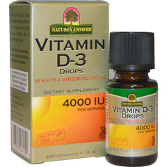 Nature's Answer Vitamin D3 Liquid