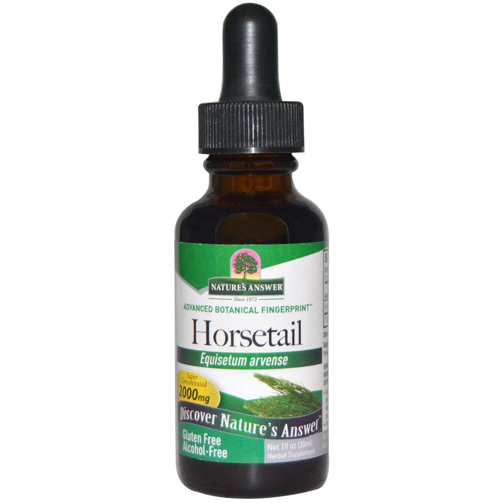 Nature's Answer Horsetail Herb - alcohol free