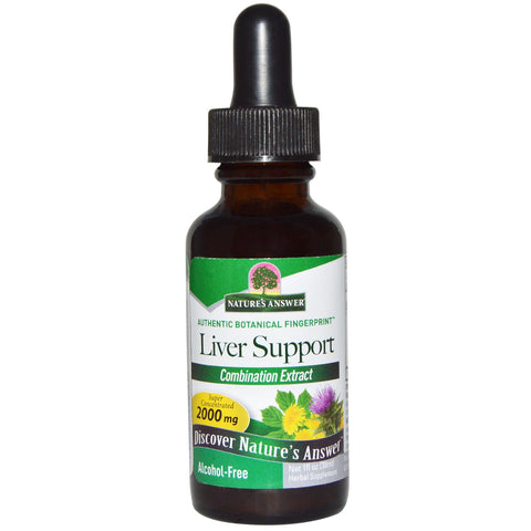 Nature's Answer Liver Support - alcohol free