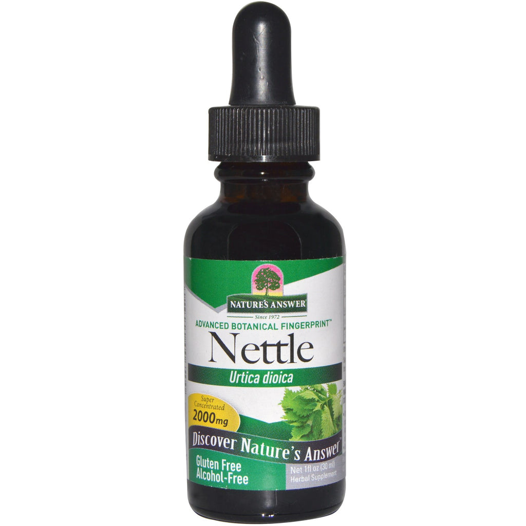 Nature's Answer Nettle Leaf Extract - alcohol free