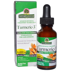Nature's Answer Turmeric-3 Liquid Extract