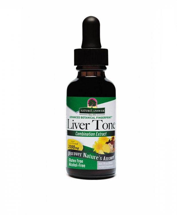 Nature's Answer Liver Tone - alcohol free