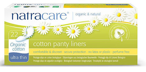 Natracare Panty Liners - Ultra Thin
