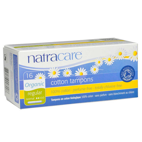Natracare Organic Tampons - Regular with Applicator