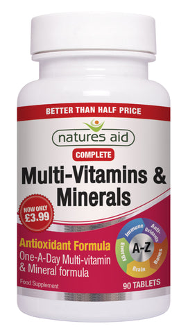 Nature's Aid Multi-Vitamins & Minerals
