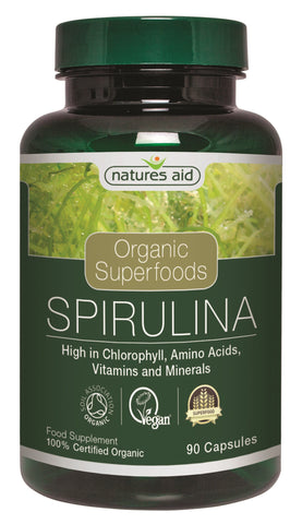 Nature's Aid Organic Spirulina Tablets