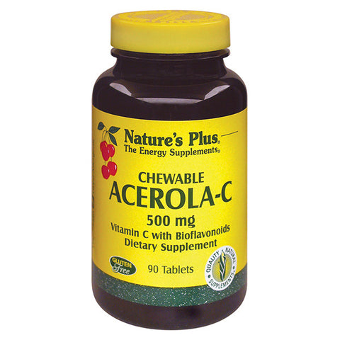 Natures Plus Acerola C Chewable 500mg
