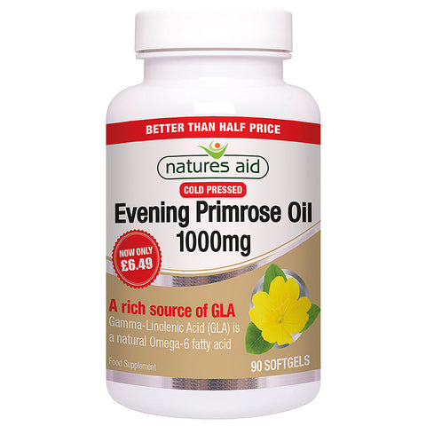 Nature's Aid Evening Primrose Oil 1000mg