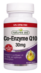 Nature's Aid Co-Q-10 30mg (50% EXTRA)