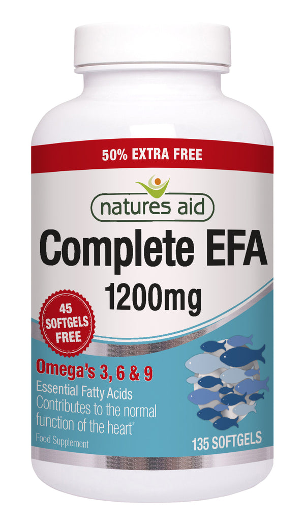 Nature's Aid Complete EFA 1200mg (50% EXTRA)