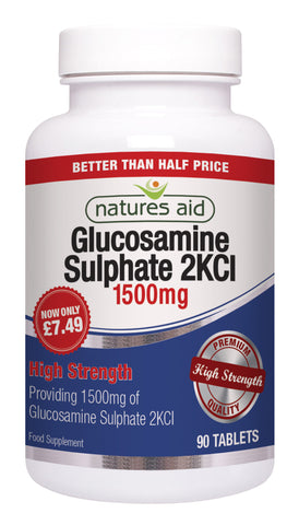 Nature's Aid Glucosamine Sulphate 1500mg