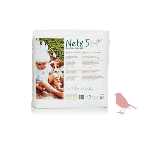 Naty by Nature Babycare Size 5 Nappy