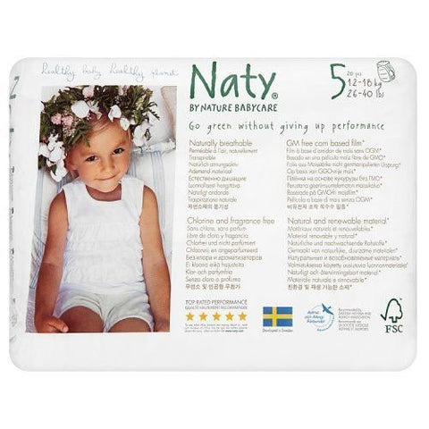 Naty by Nature Babycare Size 5 Nappy Pants