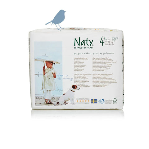 Naty by Nature Babycare Size 4+ Nappy (Maxi Plus)