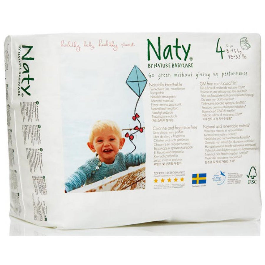 Naty by Nature Babycare Size 4 Nappy Pants