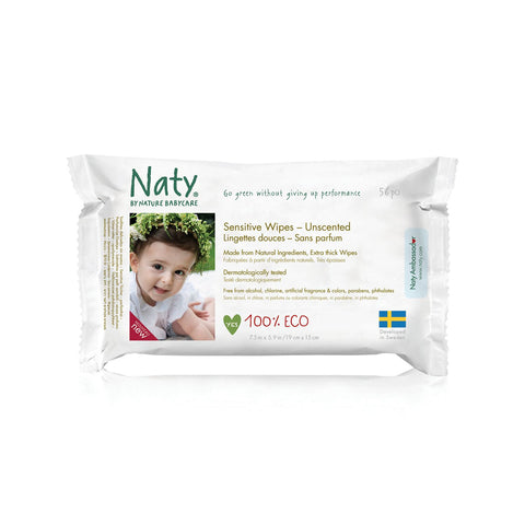 Naty by Nature Babycare Eco Wipes