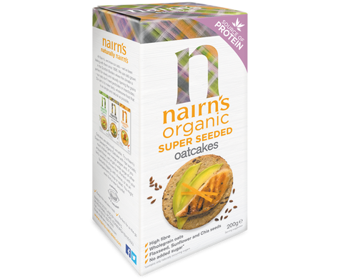 Nairns Oatcakes - Super Seeded (Organic)