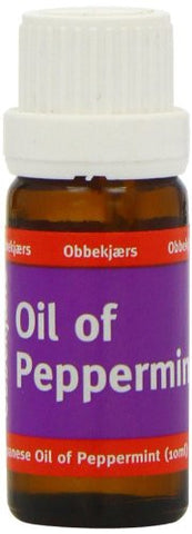 Obbekjaers Peppermint Oil 10ml