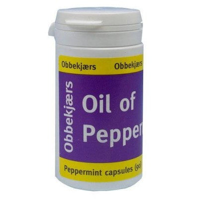 Obbekjaers Oil of Peppermint Capsules