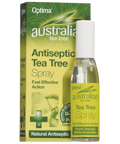 Optima Australian Tea Tree Antiseptic Spray