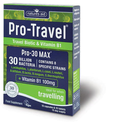 Nature's Aid Pro-Travel Pro-30 Max 30 Billion Bacteria