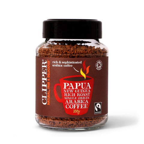 Clipper Fairtrade Organic Papua New Guinea Coffee