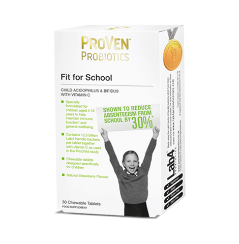 ProVen Fit for School Child Acidophilus & Bifidus with Vitamin C