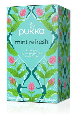 Pukka Mint Refresh Herbal Blend Tea