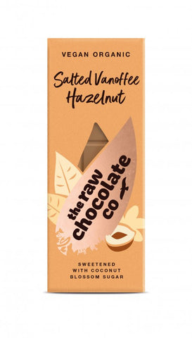 The Raw Chocolate Co. Salted Vanoffee Hazlenut Bar