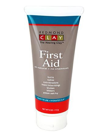 Redmond Clay First Aid