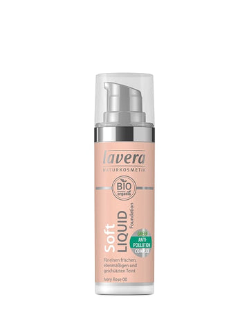 Lavera Soft Liquid Foundation - 00 Ivory Rose