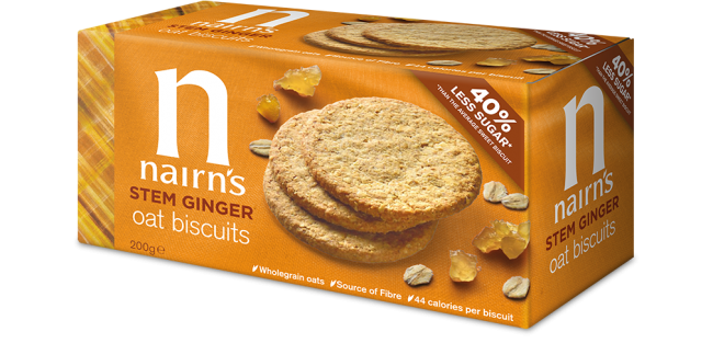 Nairns Oat Biscuits - Stem Ginger