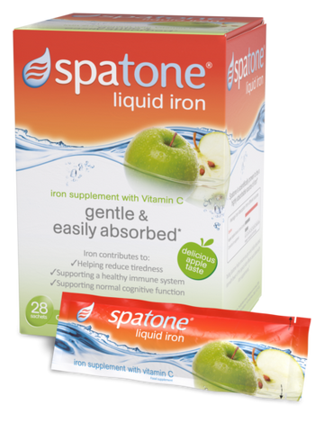 Spatone Iron Supplement Sachets - Apple