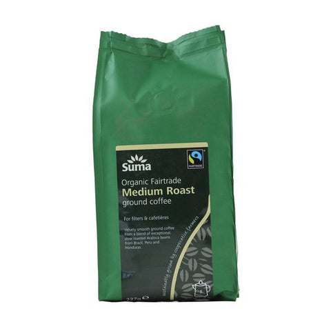 Suma Organic Fair Trade Medium Roast Ground Coffee