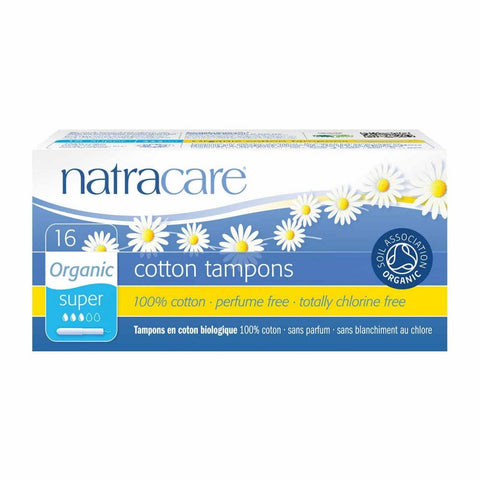 Natracare Tampons - Super (with applicator)