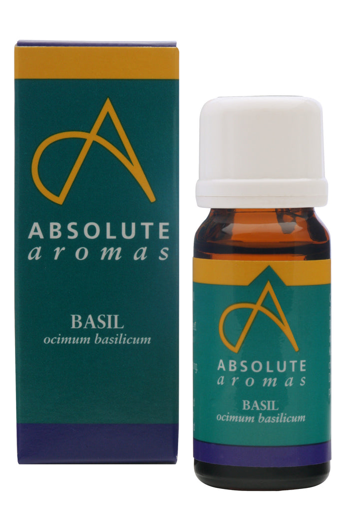 Absolute Aromas Basil Essential Oil
