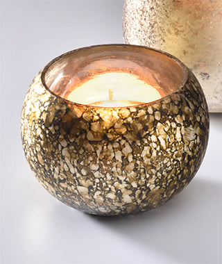 Namaste Tealight Holder - Antique Finish