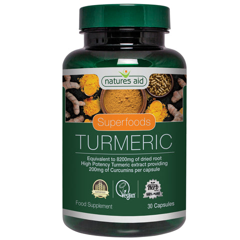 Nature's Aid High Potency Turmeric 8200mg